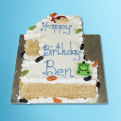Single Figure Cake