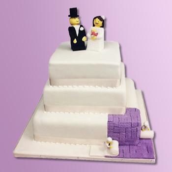 Builders Wedding Cake