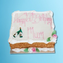 "Birthday Cake 10"" x 8"""
