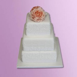 New wedding cakes